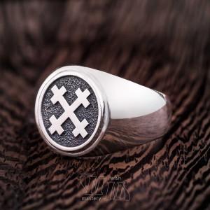 Перстень Крест Мары